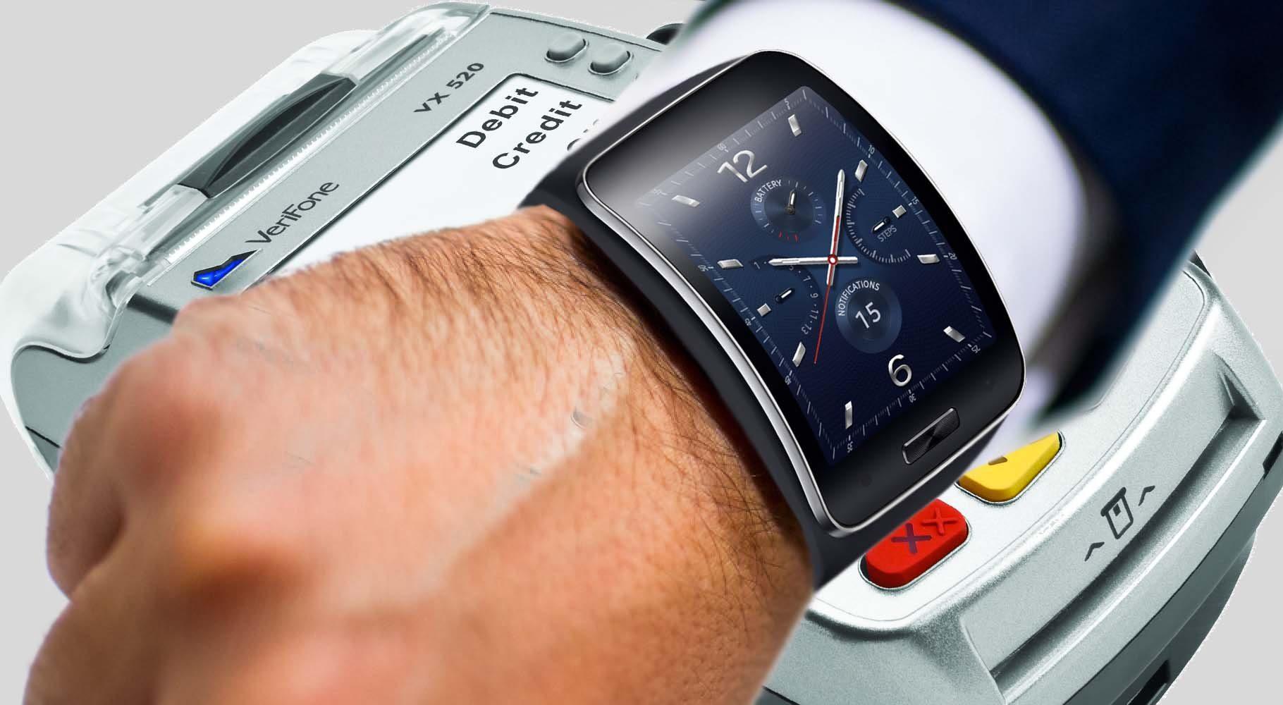 Часы с NFC модулем