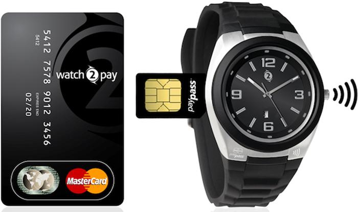 NFC часы