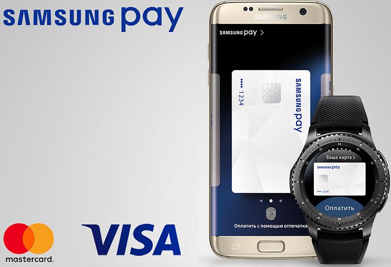 Samsung Pay оплата часами