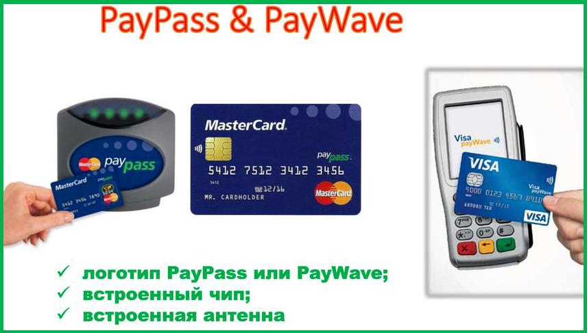 Карты PayPass и PayWave