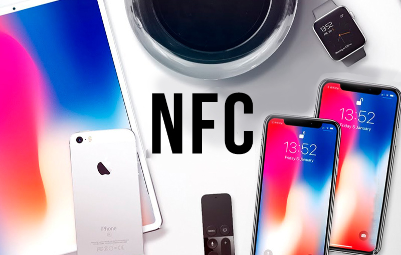 apple устройства c nfc
