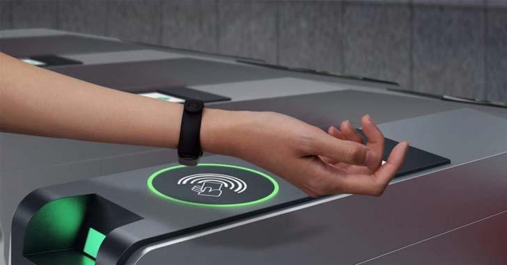 браслет с NFC оплата платежей