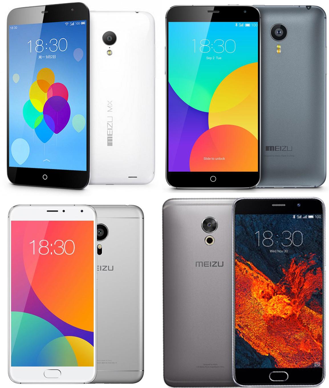 Список смартфонов Meizu с NFC модулем