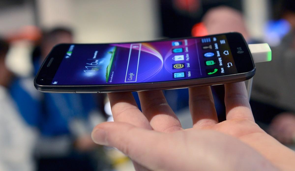 смартфон G Flex от lg
