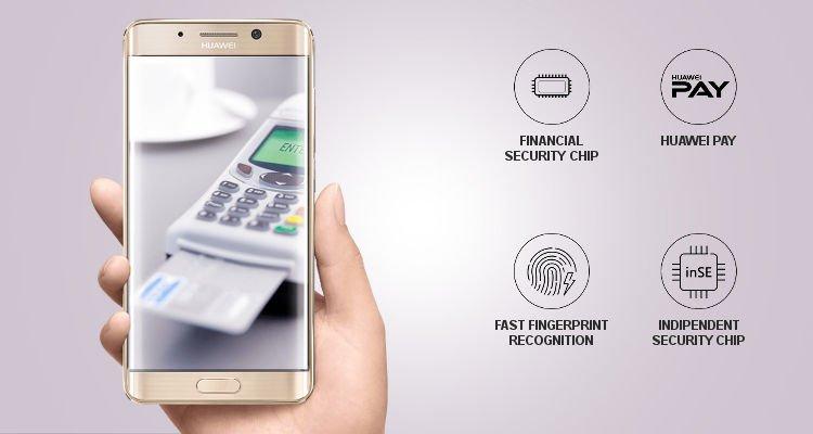 Huawei бесконтактная оплата