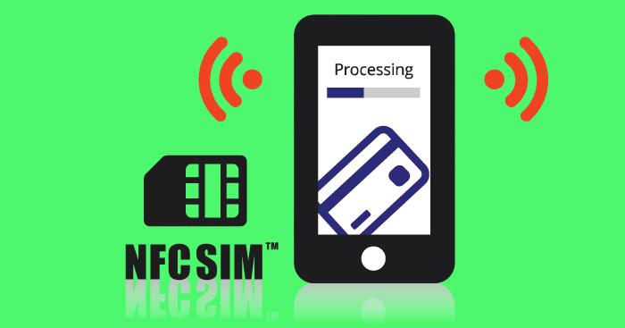 Sim с NFC