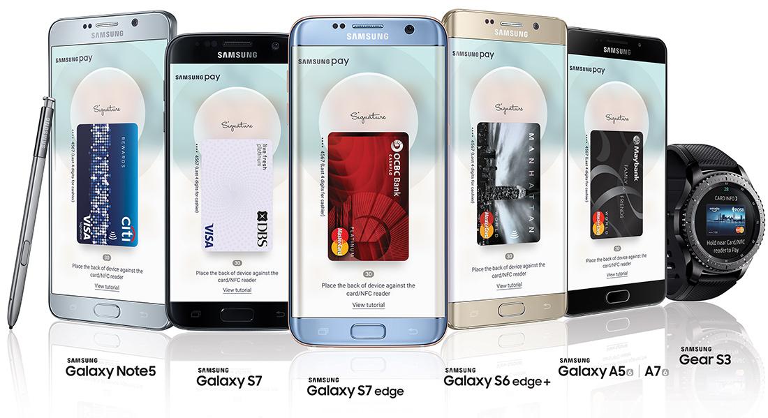 samsung pay на каких устройствах