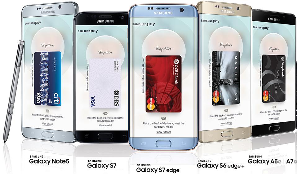 samsung pay на каких телефонах