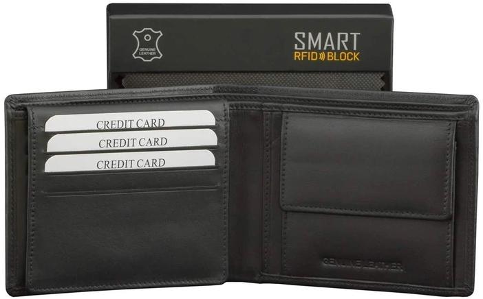 Защитный кошелек для бесконтактных карточек