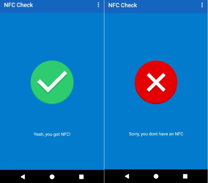 приложение NFC Check