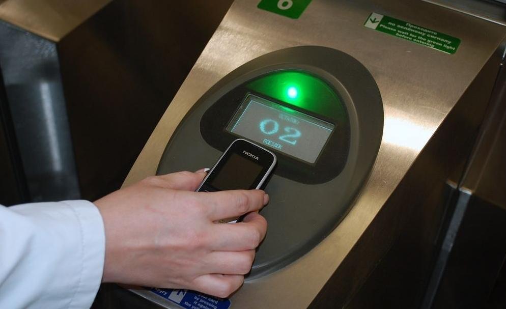 оплата телефоном проезд в метро