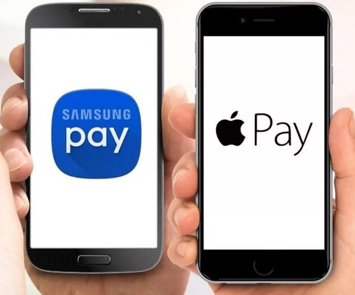 Samsung Pay и Apple Pay