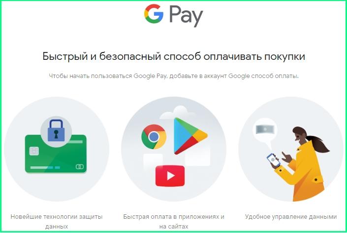 google pay плюсы
