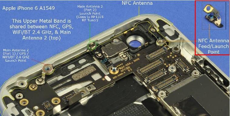 нфс антенна на iphone