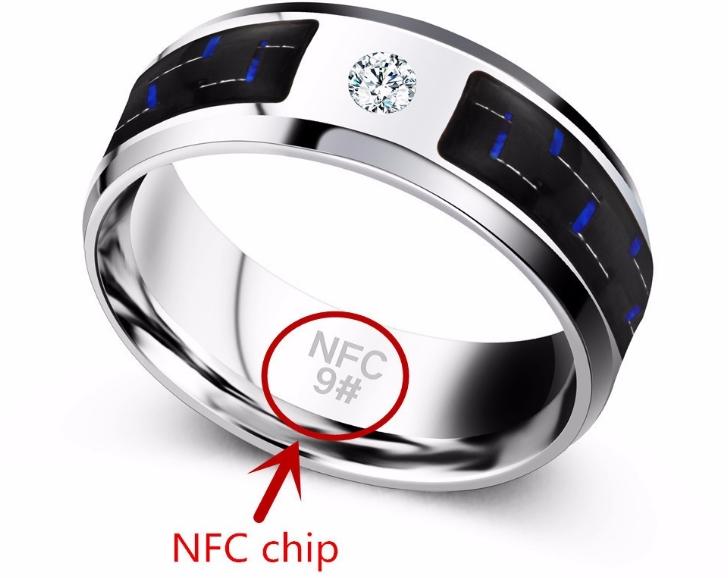кольцо nfc чип