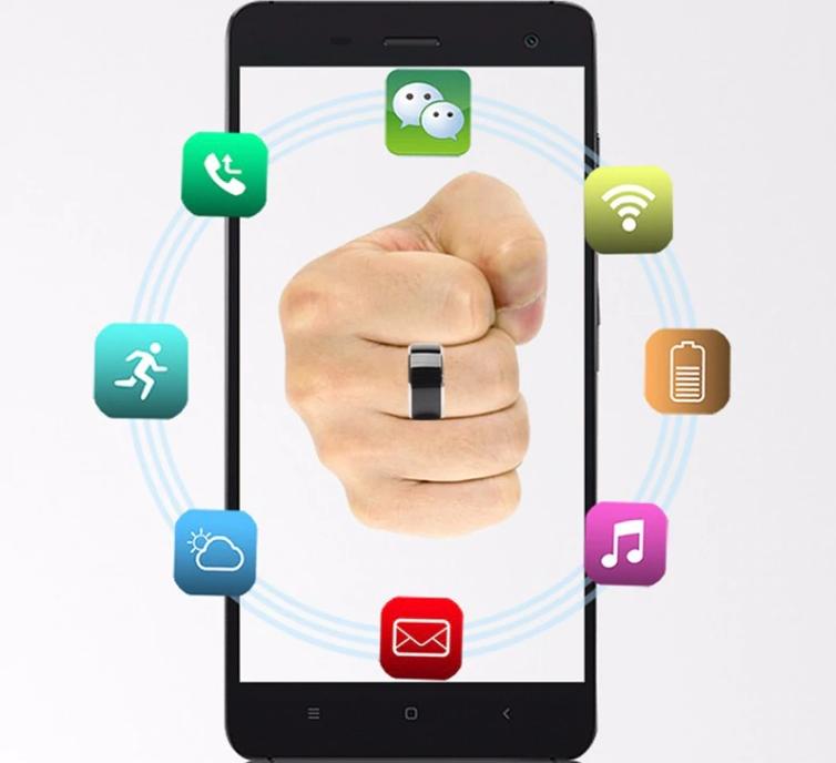 смарт кольцо настройка через смартфон