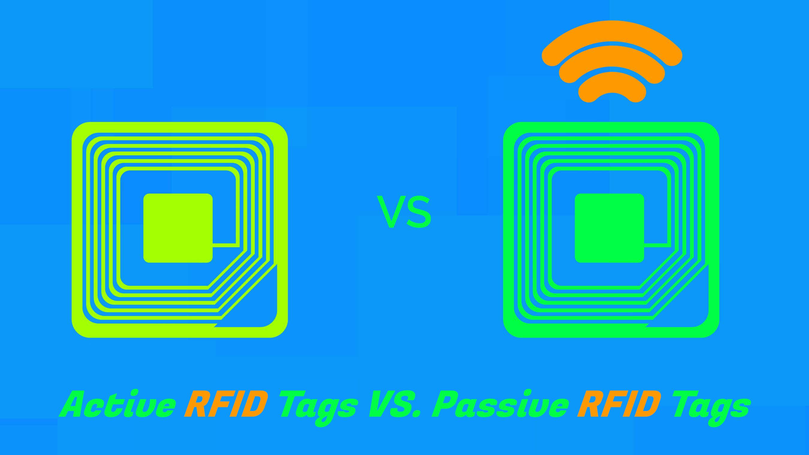 пассивные и активные RFID метки отличия