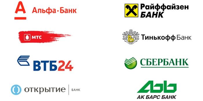 банки партнеры виза