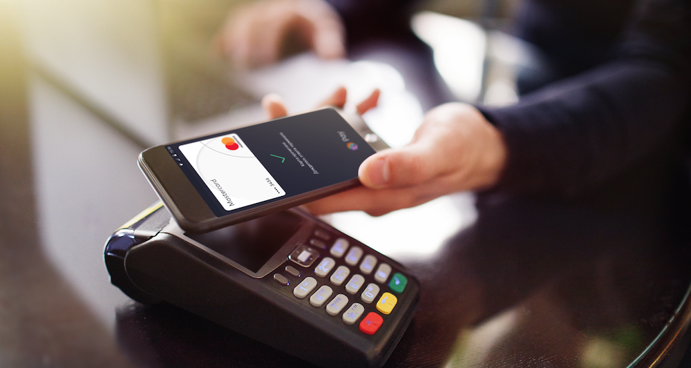 google pay оплата смартфоном