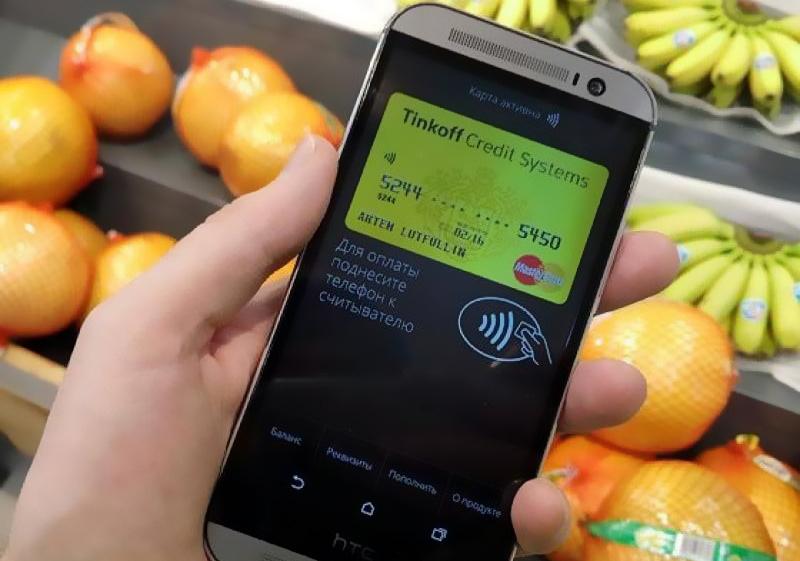 бесконтактная оплата смартфоном от тинькофф