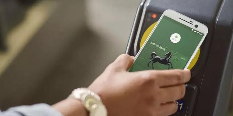 NFC оплата смартфоном