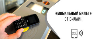 мобильный билет билайн