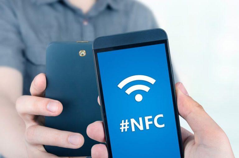 Модуль NFC в смартфоне
