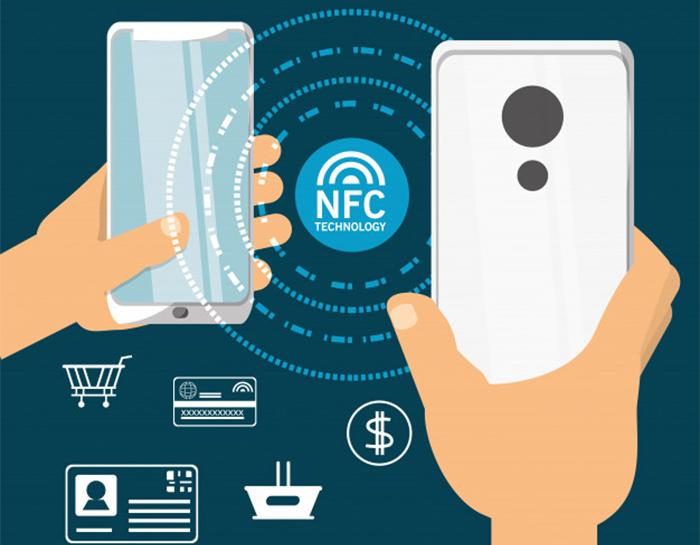 передача файлов по технологии NFC