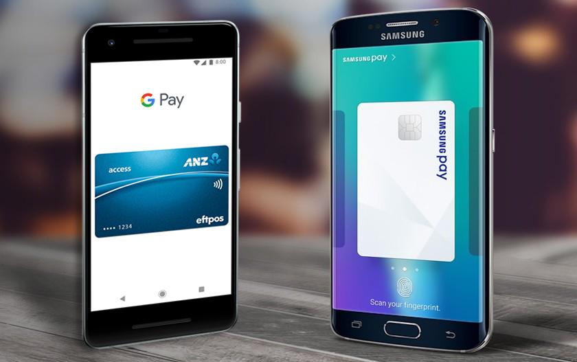 samsung pay и google pay что одинакового
