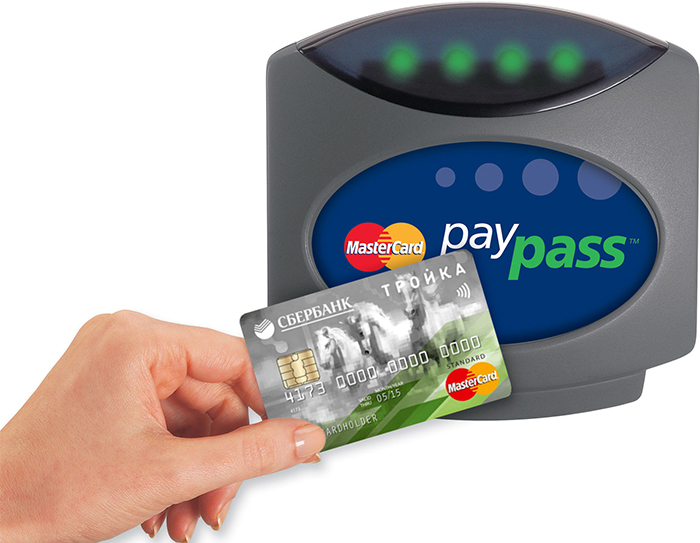карта сбербанка с PayPass